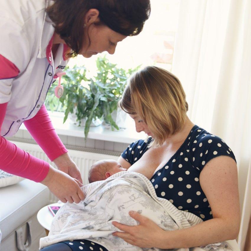 Hulp bij Borstvoeding geven